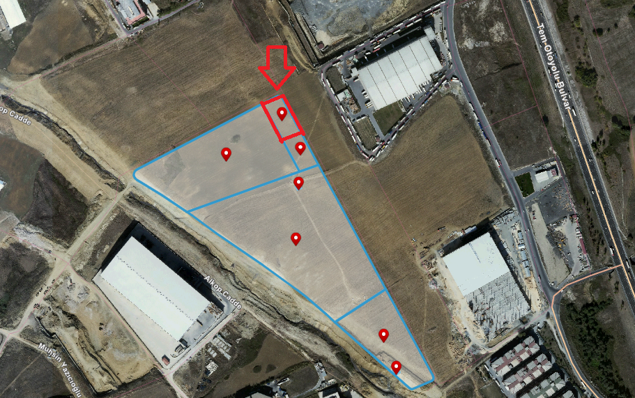 Industrial Land for Sale in İstanbul, Esenyurt