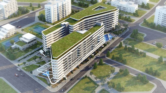 Family Oriented Apartments for Sale with Affordable Prices at the hearth of İzmir